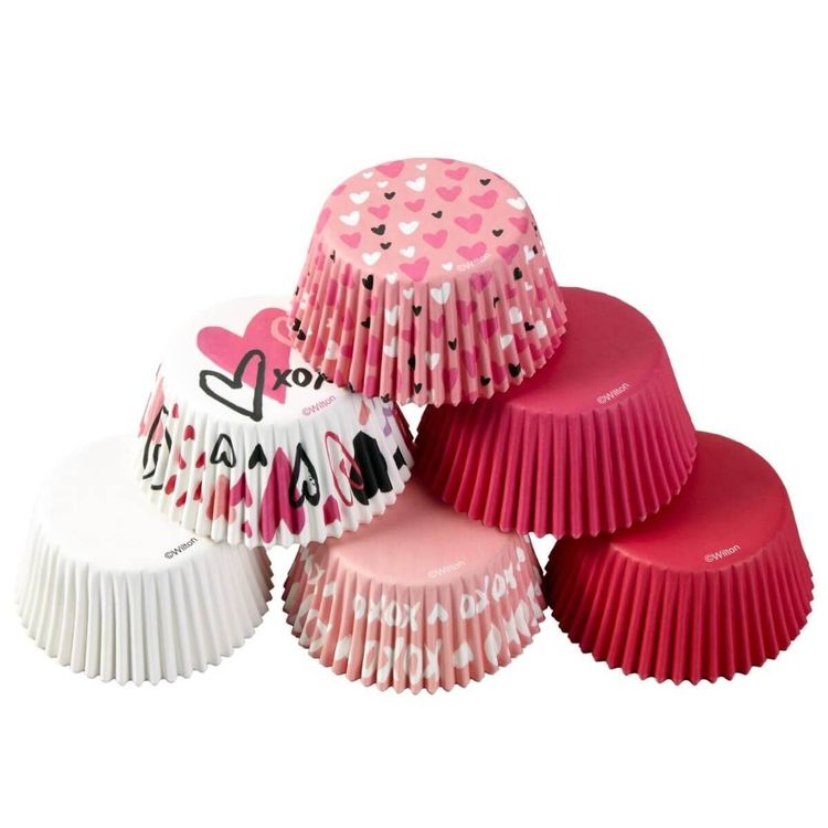 Muffinsformar - Alla hjärtans dag, Wilton