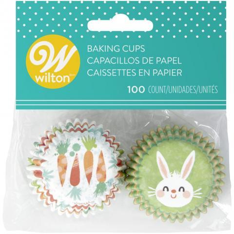 Mini muffinsformar, påskhare - Wilton