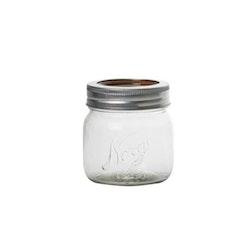 Norgesglass - glasburk med skruvlock 0,4 lit