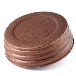 Mason Jar Lid regular - Rustic Tin