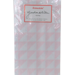 Kalaspåse - trianglar rosa