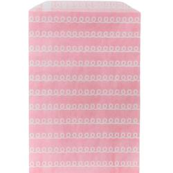Presentpåse 10 st - Rosa Swirl