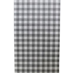 Presentpåse 10 st - grå/svart, rutig