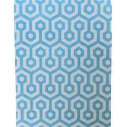 Kalaspåsar 10 st - ljusblå/vit honeycomb