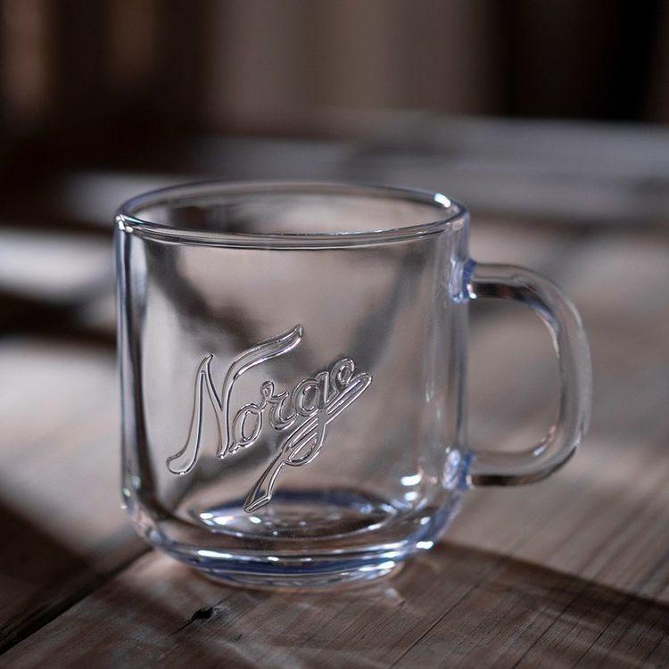 Norgesglasset - Glasmuggar 2 pack