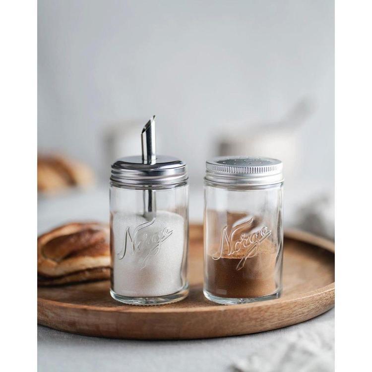 Norgesglasset - sockerströare