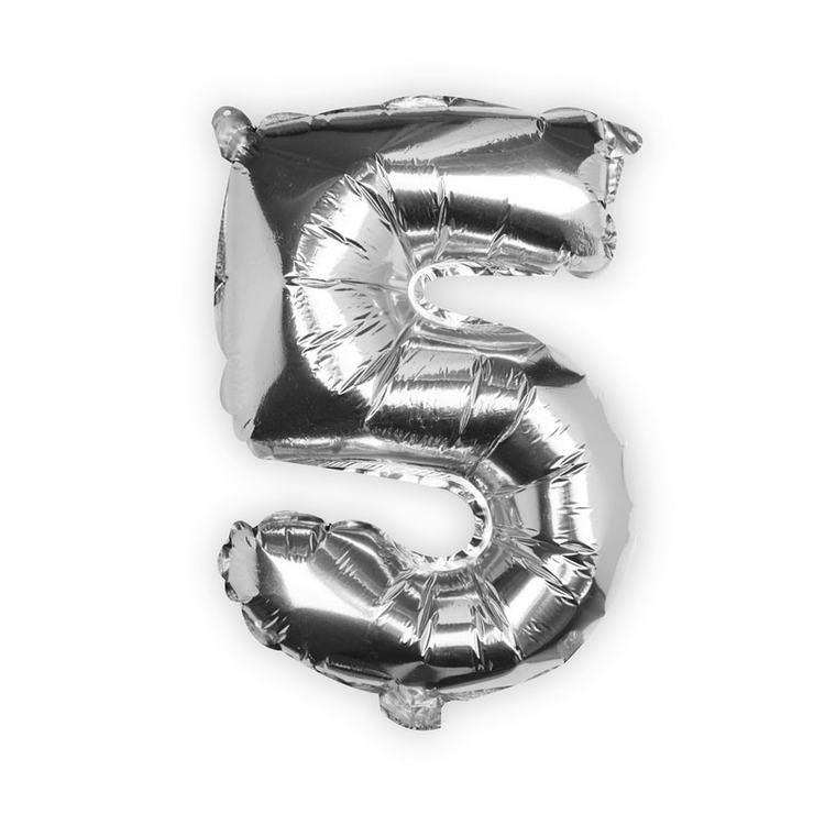 Sifferballong - Fem