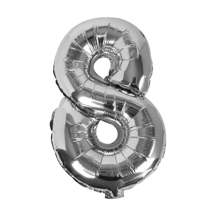Sifferballong - Åtta