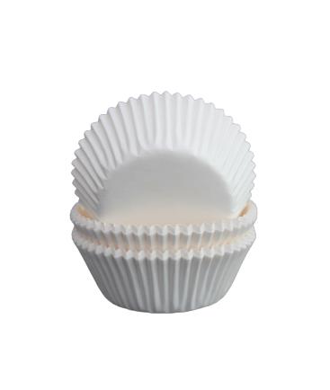 Muffinsform - vit (45 x 25 mm)