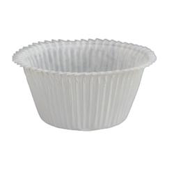 Extra stadiga muffinsformar - vita
