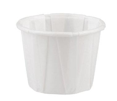 Cupcakeform, vit cup, storlek liten 4,0 cm