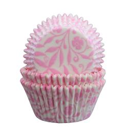 Muffinsformar - Romance, Rosa