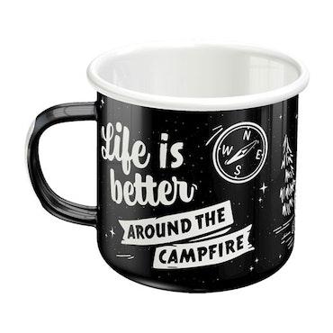 Emaljmugg - Campfire