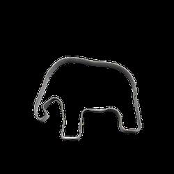 Kakmått - Elefant