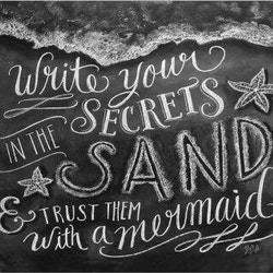 Print - Secrets in the sand