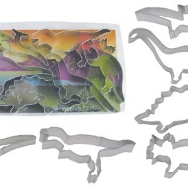 Pepparkaksformar - Set Dinosaurier 6 st