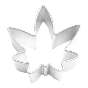 Pepparkaksform - löv, miniatyr