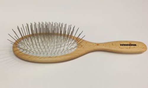 Eurogroom Pin Brush Long 27 mm