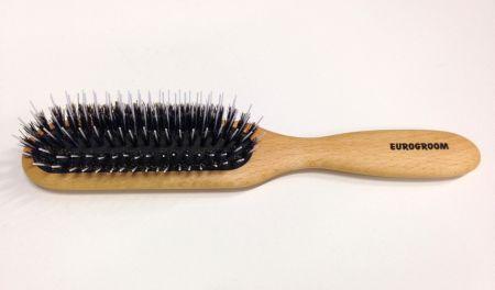 Eurogroom Antistatic Mix Brush Avlång