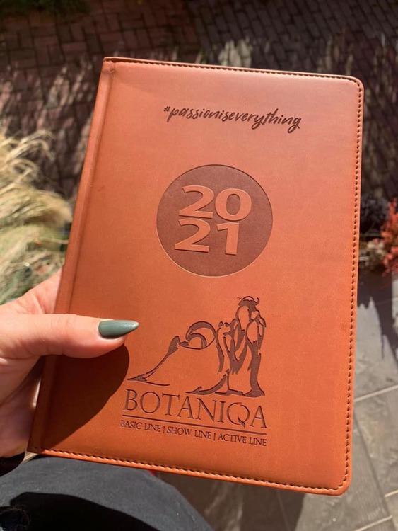BOTANIQA Kalender/almanacka 2021