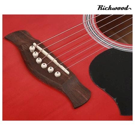 Akustisk stålsträngad Richwood RD-12-RS