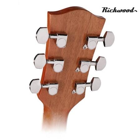 Akustisk stålsträngad Richwood RD-12-SB