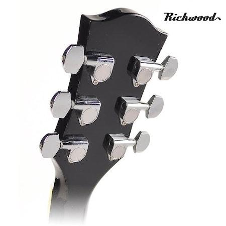Akustisk stålsträngad Richwood RD-12-CEBK