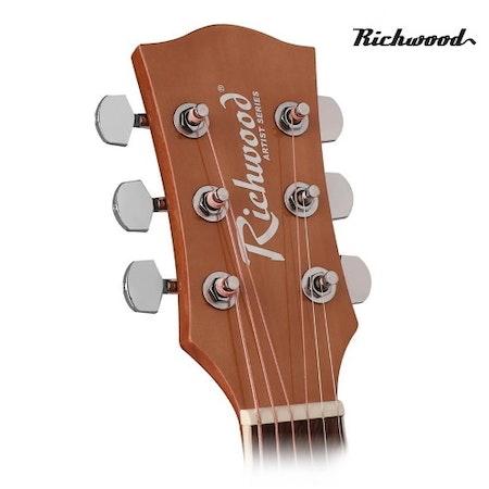 Akustisk stålsträngad Richwood RD-12-CESB