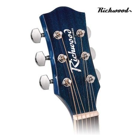 Akustisk stålsträngad Richwood RD-12-CEBS