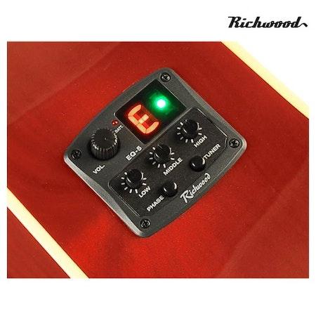 Akustisk stålsträngad Richwood RD-12-CERS