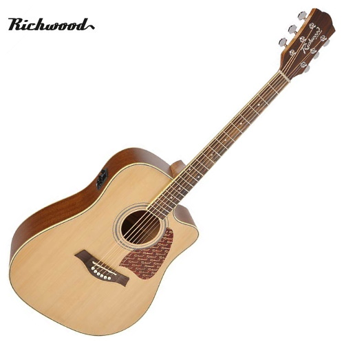 Akustisk stålsträngad Richwood RD-16-CE