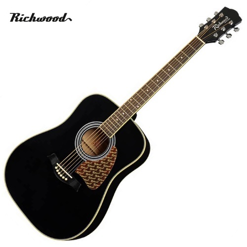 Akustisk stålsträngad Richwood RD-16-BK