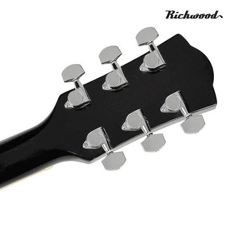 Akustisk stålsträngad Richwood RD-17-CEBK