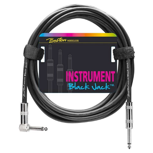 Instrumentkabel Boston Black Jack GC-230-6