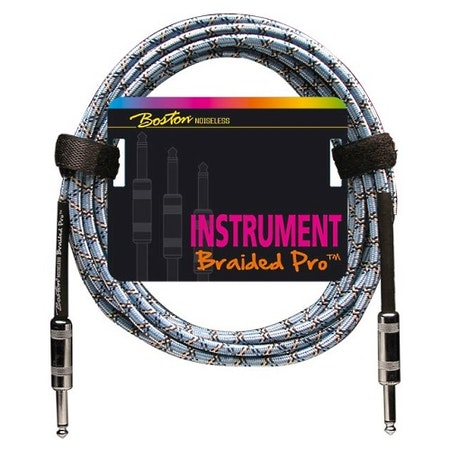 Instrumentkabel Boston Braided Pro GC-266-3