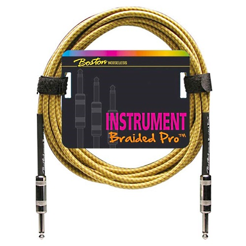 Instrumentkabel Boston Braided Pro GC-262-3
