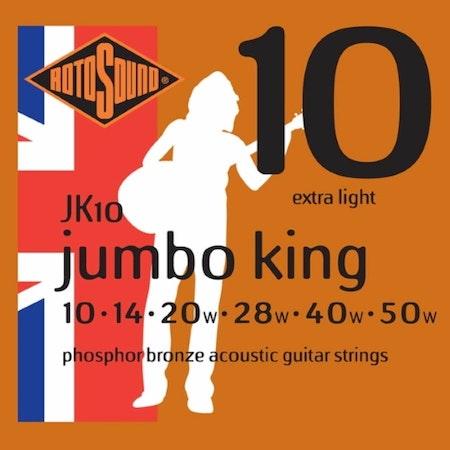 Rotosound Jumbo King JK10 Phosphor Bronze 010-050