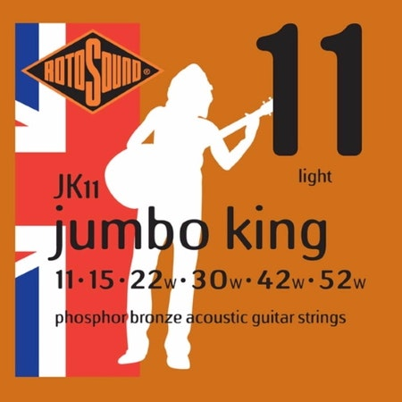 Rotsound Jumbo King JK11 Phosphor Bronze 011-052