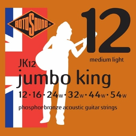 Rotsound Jumbo King JK12 Phosphor Bronze 012-054