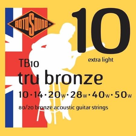 Rotosound Tru Bronze  Acoustic TB10 10-47
