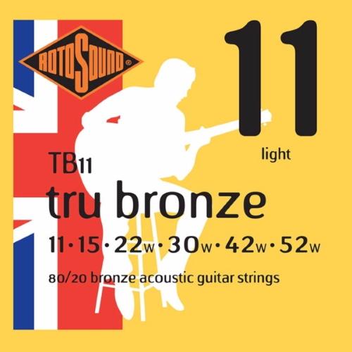 Rotosound Tru Bronze Acoustic TB11 11-52