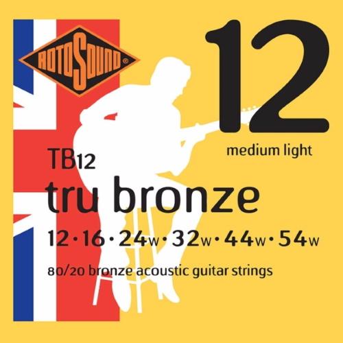 Rotosound Tru Bronze Acoustic TB12 12-54
