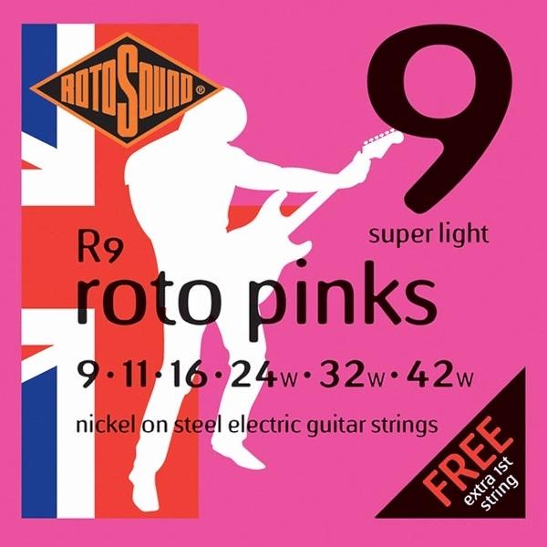 Rotosound Roto Pinks R9 09-42