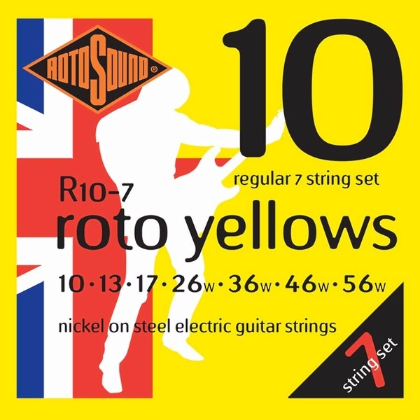 Rotosound Roto Yellows R10-7