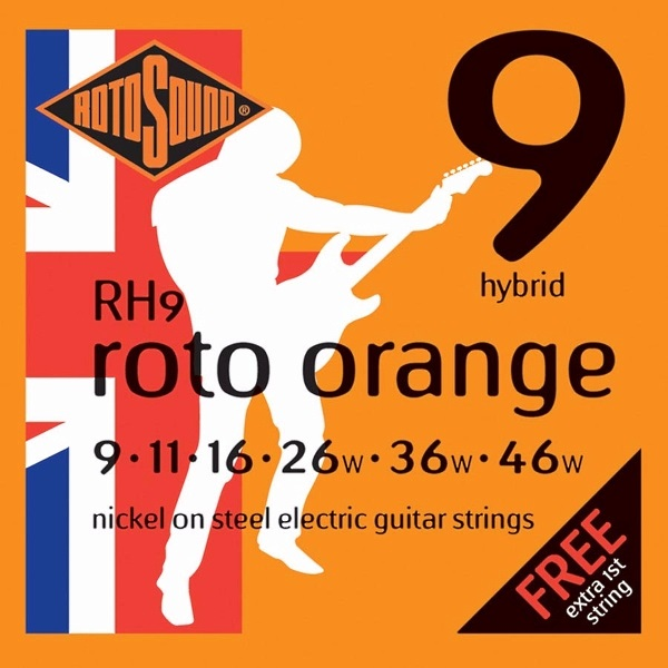 Roto Sound Roto Orange RH9 09-46
