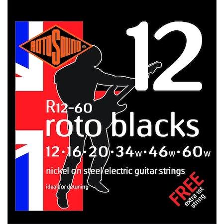 Rotosound Roto Blacks R12 12-60