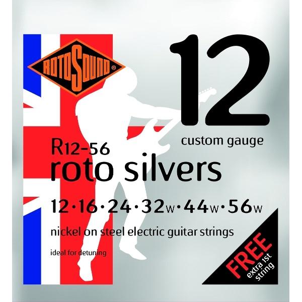 Rotosound Roto Silvers R12-56