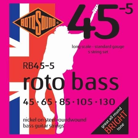 Rotosound Roto Bass 45-5 45-130