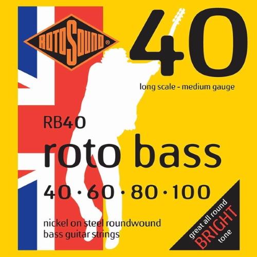 Rotosound Roto Bass RB40 40-100
