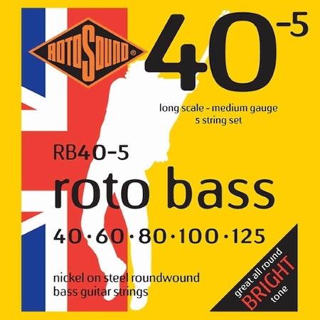 Rotosound Roto Bass RB40-5 40-125